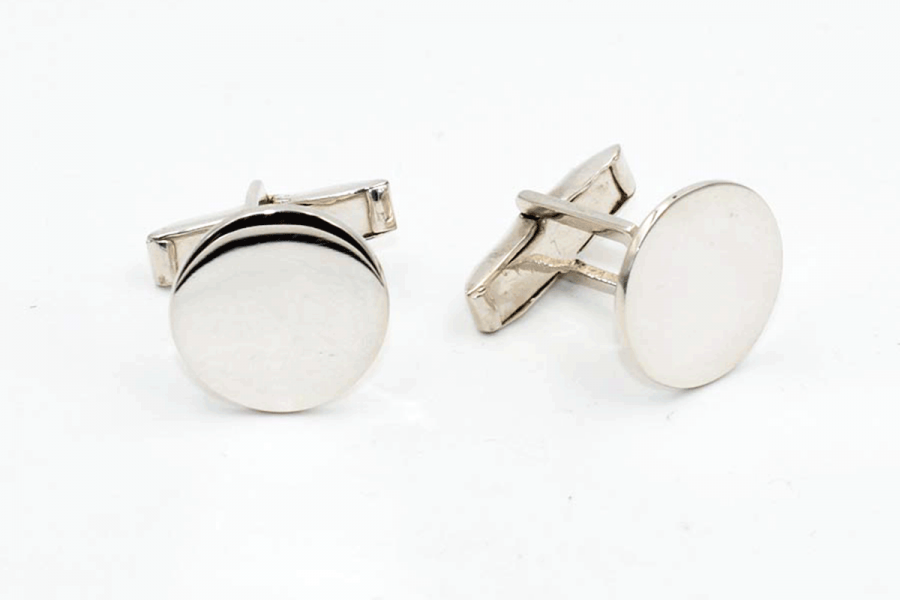 Rounded blatant cufflinks