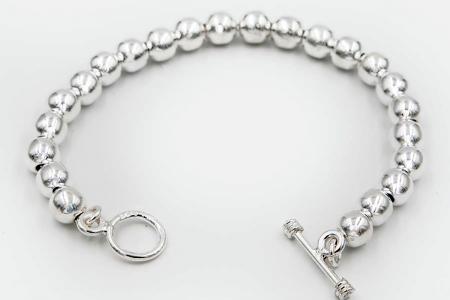 Plain beads bracelet