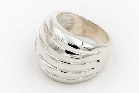 Plain ring (5 stripes)
